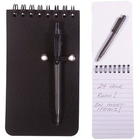 Budget Jotter with Pen with Your Logo