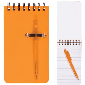 Monogrammed Budget Jotter with Pen