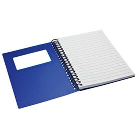 Printed Business Card Holder Notepad