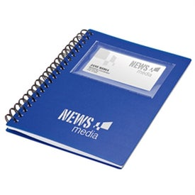 Company Business Card Holder Notepad