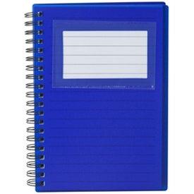 Branded Business Card Holder Notepad