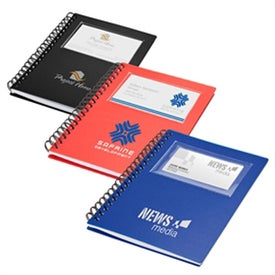 Business Card Holder Notepad (70 Sheets)