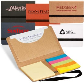 Business Card Sticky Pack Imprinted with Your Logo