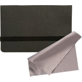 "Business Card Sticky Pack with Microfiber Cloth (150 Sheets, 2.625"" x 4.5"" x 0.25"")"