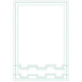 """Car Beveled Adhesive Sticky Note Pads (4"""" x 6"""")"""