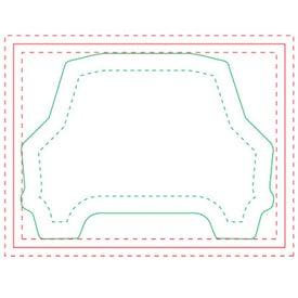 Car BIC Ecolutions Adhesive Die Cut Notepad (50 Sheets)