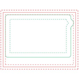 Cell Phone BIC Ecolutions Adhesive Die Cut Notepad (50 Sheets)