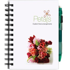 Branded Chipboard Cover Notebook