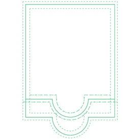 "Circle BIC Beveled Adhesive Sticky Note Pads (4"" x 6"")"