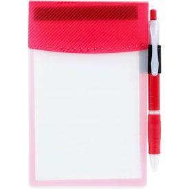 Printed Clear Advantage Flip Pad