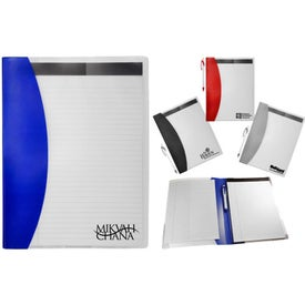 Clear Color Folio with Your Logo