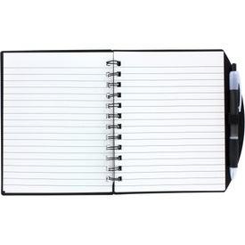Imprinted Color Block Notebook