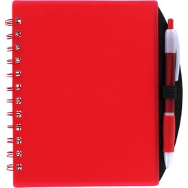 Branded Color Block Notebook