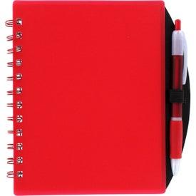 Branded Color Block Notebook