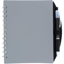 Logo Color Block Notebook