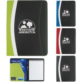 Logo Color Curve Padfolio