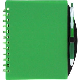 Logo Color Block Notebook and Sticky Note Combo