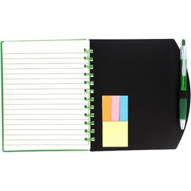 Color Block Notebook and Sticky Note Combo for Marketing