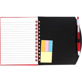 Color Block Notebook and Sticky Note Combo for Your Church