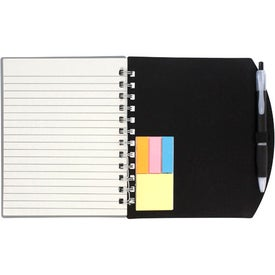 Color Block Notebook and Sticky Note Combo for Your Organization