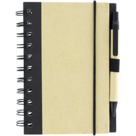 Color Edge Eco Journal and Sticky Note Combo for Your Organization