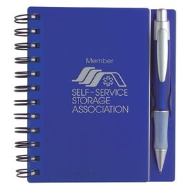 Customized Composition Notebook with Quasar Pen