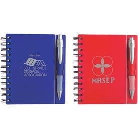 Logo Composition Notebook with Quasar Pen