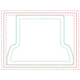 Computer BIC Ecolutions Adhesive Die Cut Notepad (25 Sheets)