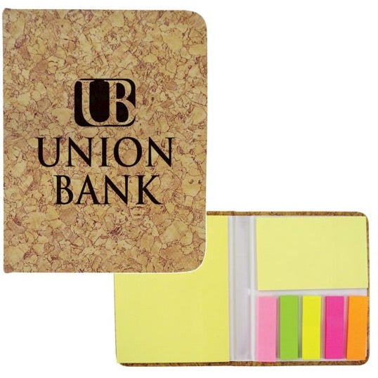 Cork Corky Sticky Notes Pad