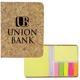 Logo Corky Sticky Notes Pad