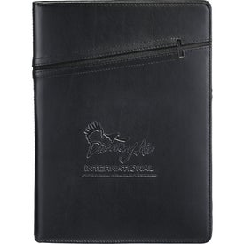 Imprinted Cross 7x10 Notebook