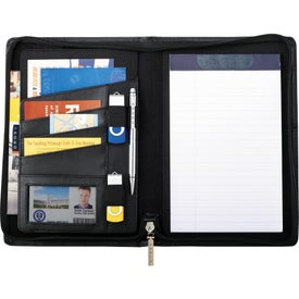 Cross Jr. Zippered Padfolio for Your Church