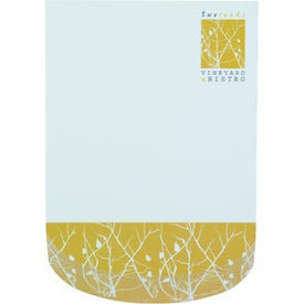 "Curve BIC Ecolutions Adhesive Beveled Notepad (4"" x 6"")"