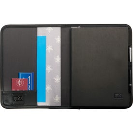 Printed Cutter & Buck Pacific Series Refillable Notebook