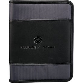 Cutter & Buck Pacific Series Refillable Notebook Printed with Your Logo