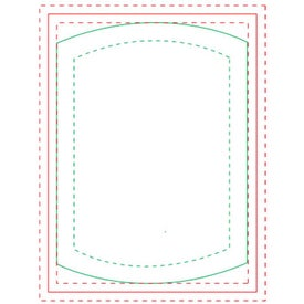 "Cylinder BIC Ecolutions Adhesive Die Cut Notepad (25 Sheets, 3.755"" x 2.737"")"