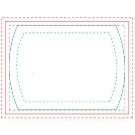 Cylinder BIC Ecolutions Adhesive Die Cut Notepad (50 Sheets)