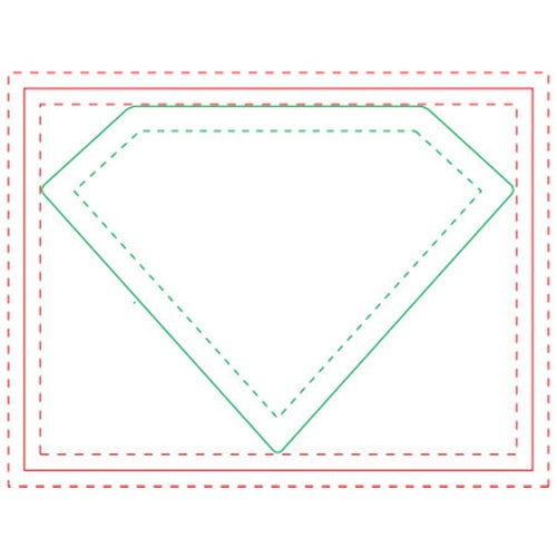 Diamond Adhesive Sticky Note Pads