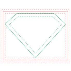 Diamond Adhesive Sticky Notepads (Medium, 50 Sheets)