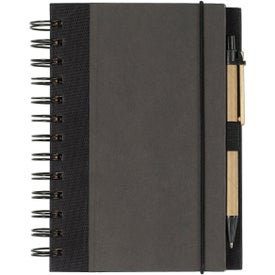Eco-friendly Spiral Notebook and Pen for Your Church