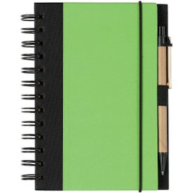 Advertising Eco-friendly Spiral Notebook and Pen
