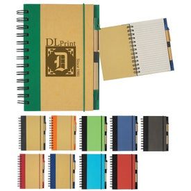 Eco-friendly Notebook and Pen (40 Sheets)