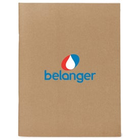 Promotional Eco Large Notebook