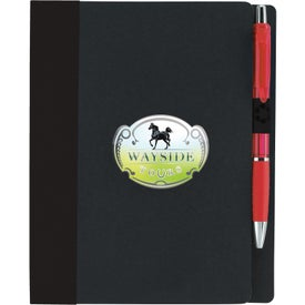 Eco Notebook With Flags Branded with Your Logo