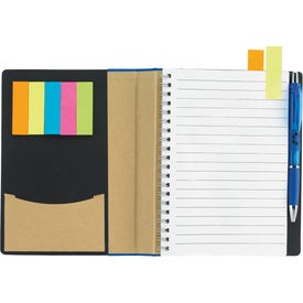 Customized Eco Notebook With Flags