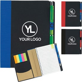 """Eco Notebook With Flags (5"""" x 7"""")"""