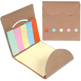 Customized Eco Pocket Sticky Memo Book