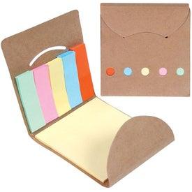 Customized Eco Pocket Sticky Memo Book