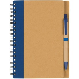 Printed Eco Spiral Notebook & Pen