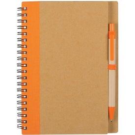 Advertising Eco Spiral Notebook & Pen